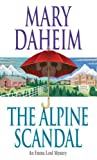 Front cover for the book The Alpine Scandal by Mary Daheim