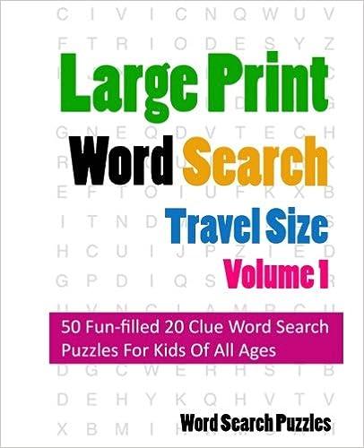 Télécharger un ebook à partir de google books mac osLarge Print Word Search: Travel Edition (French Edition) PDF