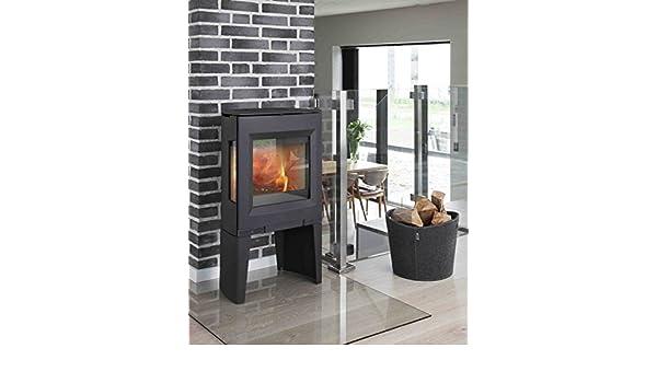 Aduro 13-1 - Estufa de leña contemporánea (5 kW), Color Negro: Amazon.es: Hogar