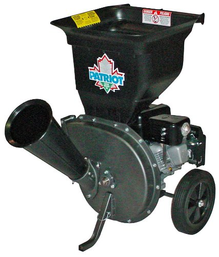 Patriot Products CSV-3065B 6.5 HP Briggs & Stratton Gas Powered Wood Chipper/Leaf Shredder by Patriot