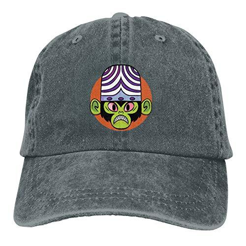 Uclipers Unisex MOJO JoJo! Vintage Jeans Baseball Cap Classic Cotton Dad Hat Adjustable Plain Cap Deep -