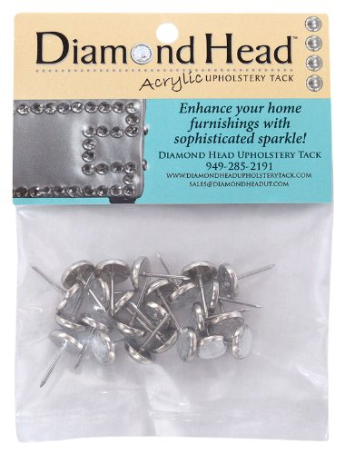Diamond Head Acrylic Upholstery Tack, 11mm by Diamond Head Acrylic Upholstery Tack (Image #1)