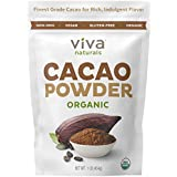 Rigorosum Naturals #1 Best Selling Certified Organic Cacao Powder from Superior Criollo Beans, 1 LB Bag