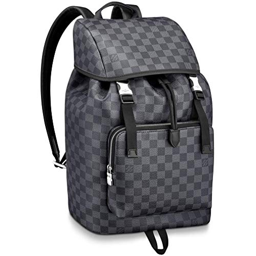 Louis Vuitton Damier Graphite Canvas Zack Backpack Handbag Article: N40005 (Louis Vuitton Damier Graphite)