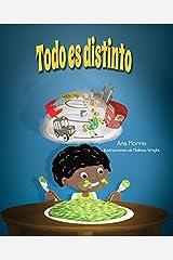 Todo Es Distinto by Ann Morris (2016-01-05)