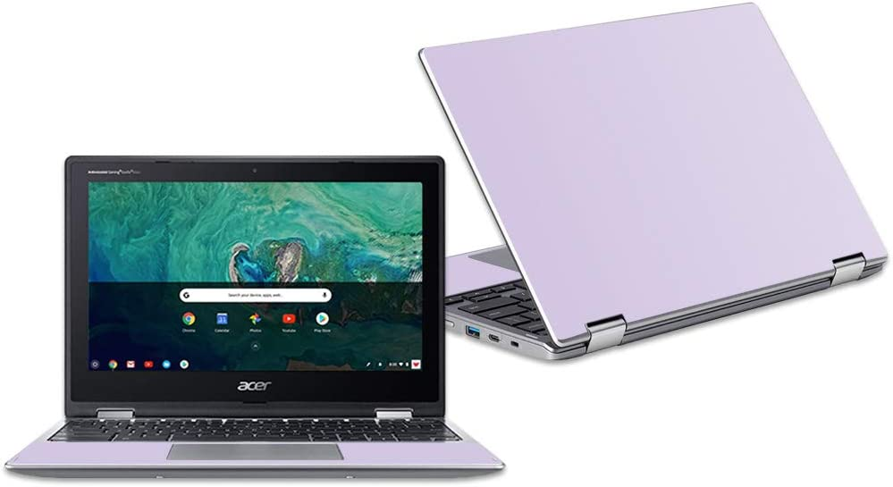 """MightySkins Skin Compatible with Acer Chromebook Spin 11"""" CP311 - Solid Lilac 