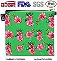 QOGiR Reusable Snack Bags Sandwich Bags Handle: Lead-free,BPA-free,PVC-free,FDA PASSED