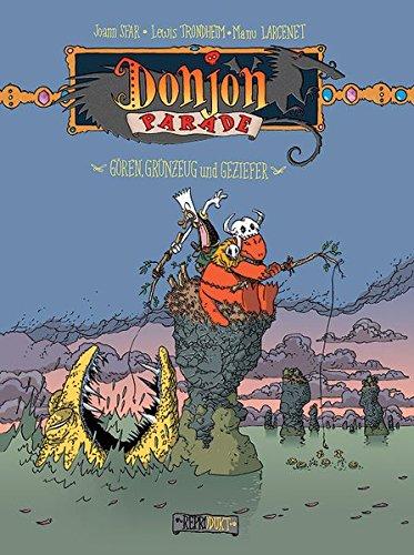 Donjon Parade 04: Gören, Grünzeug und Geziefer Taschenbuch – 1. November 2005 Joann Sfar Lewis Trondheim Manu Larcenet Kai Wilksen