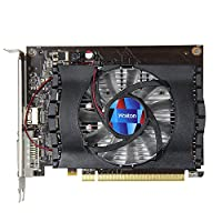 NXDA GT1030 2GB GDDR5 64bit PCI-Express 4K Gaming Video Graphics Card With DVI HDMI For NVIDIA GeForce (Black)