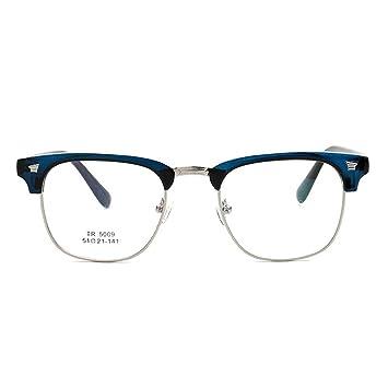 b753d0327e Oubang Marco TR90 vidrios opticos de las lentes Gafas Hombres Mujeres RX  medio borde: Amazon.es: Deportes y aire libre