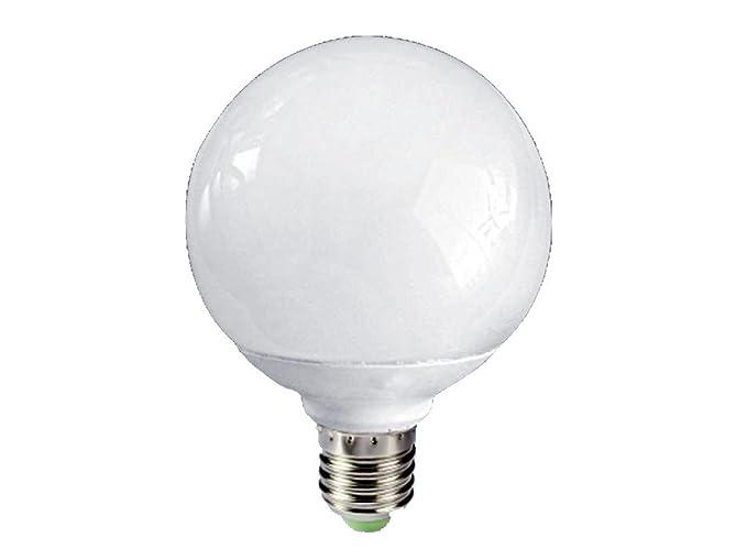 Lampade Globo A Basso Consumo : Lineteckled lampada globo sfera led w attacco e luce fredda