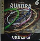 Aquila Colored Soprano Ukulele string by Aurora - Multi-colored