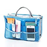 Urmiss Classic Multi-pocket Purse Makeup Bag Cosmetic Handbag Multi-functional Storage Organizer Wash Bag Hanging Travelling Bags