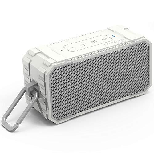 Neocore WAVE A1 Altavoz Bluetooth Portátil, Inteligente e Impermeable para la Ducha o el Exterior con 24 Horas de…