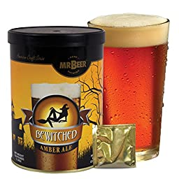 Mr. Beer Bewitched Amber Ale Homebrewing Craft Beer Refill Kit