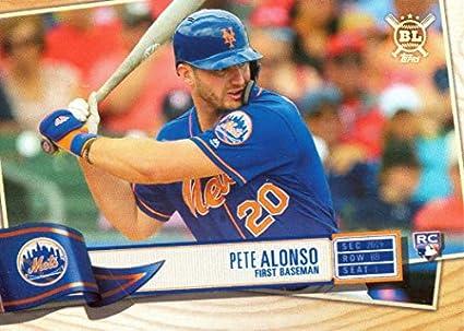 Amazoncom 2019 Topps Big League Baseball 20 Pete Alonso
