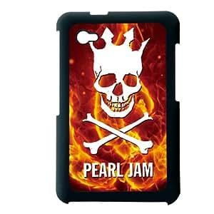 Generic Plastic Back Phone Cover For Man Printing Pearl Jam For Samsung Galaxy Tab P6200 Choose Design 3