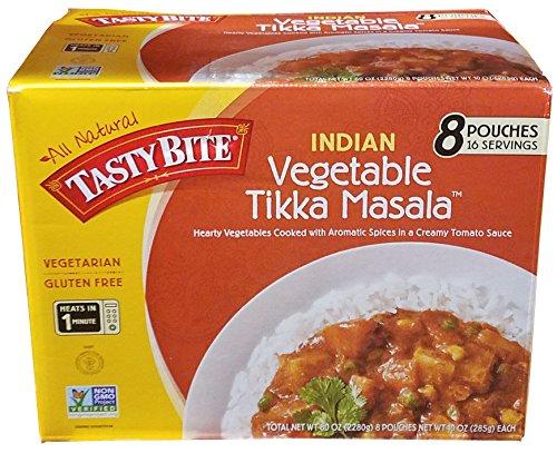 Indian Vegetable Tikka Masala, 8 Pouches - 10 oz each
