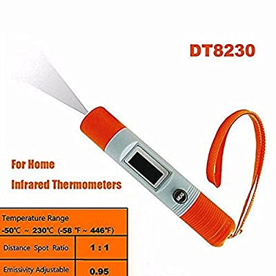 Heartte@ Mini Non-Contact Pen Type Temperature Meter Measurement -50--+230 Degree IR Infrared Thermometer (MX-DT8230)