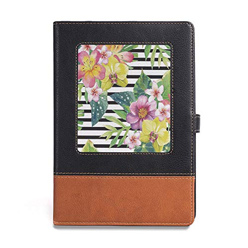 Vintage Writing Notebook Diary,Floral,A5(6.1