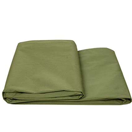 2Meter Heavy Duty Waterproof Outdoor Canvas Tent Fabric Material Cover Brown