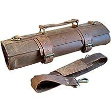 One Leaf - Professional Knife Bag for Chefs - Tuareg (Brass Color Hardware)