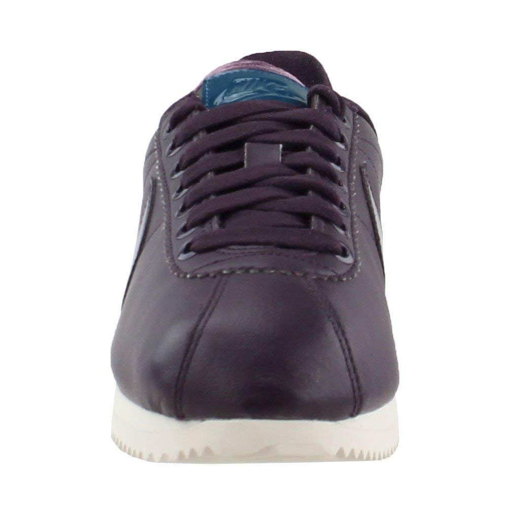 """best sneakers f500c 6eb27 Nike Classic Cortez Leather Se Premium PRM """"Port Wine"""" Exclusive Collection,  Chaussures de Course pour Femmes"""