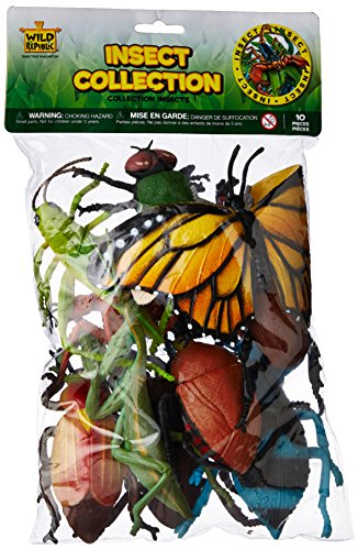 Wild Republic Polybag Insect 10 Pieces (Bug Long Stink)