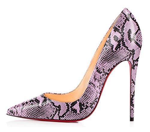 Ubeauty Taille Serpentine Hauts B Stilettos Grande Aiguille Chaussures Femmes Talons Sexy Escarpins Serpentin Talon 6qwx6g1r