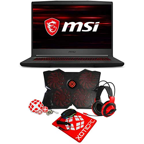 "MSI GF65 Thin 9SD-252 Essential (i7-9750H, 64GB RAM, 1TB NVMe SSD, GTX 1660 Ti 6GB, 15.6"" Full HD, Windows 10) Gaming Laptop"
