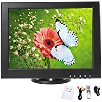 YaeKoo 12 inch CCTV TFT LCD Monitor - AV PC VGA AV TV HDMI Inputs Display