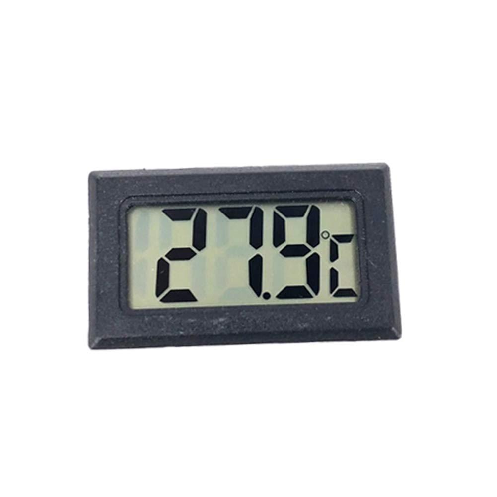 Yamalans Mini LCD Digital Wireless Thermometer Hygrometer Temperature Humidity Meter Black
