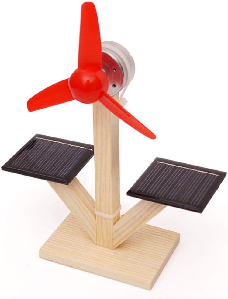 Astrryfarion Juguete Educativo Divertido, Niños Bricolaje Modelo de Ventilador Solar Material de construcción Experimento científico Juguetes de Descubrimiento: Amazon.es: Juguetes y juegos