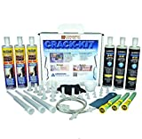 Conspec - Concrete Crack Repair Kit, Basement, Floor, Wall, Foundation, Pools, Easy to use''Crack KIT'' Epoxy Patch and Weld Concrete