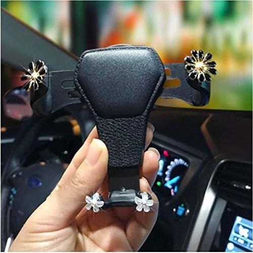 自動車電話ホルダー人格かわいい女性のカーアクセサリー自動車電話ホルダー多機能ナビゲーション重力アウトレット自動車電話ホルダー