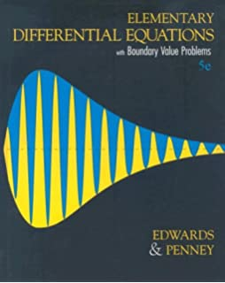 Elementary differential equations 6th edition c henry edwards elementary differential equations with boundary value problems 5th edition fandeluxe Gallery