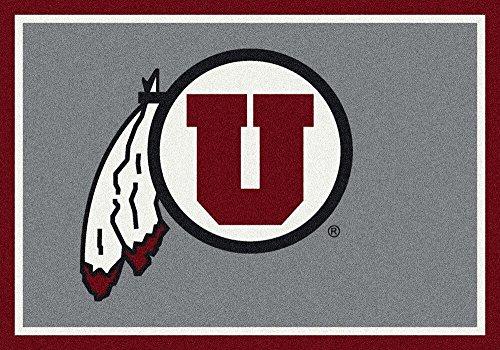 College 10'9 Rug (Milliken Utah College Team Spirit Area Rug by, 7'8