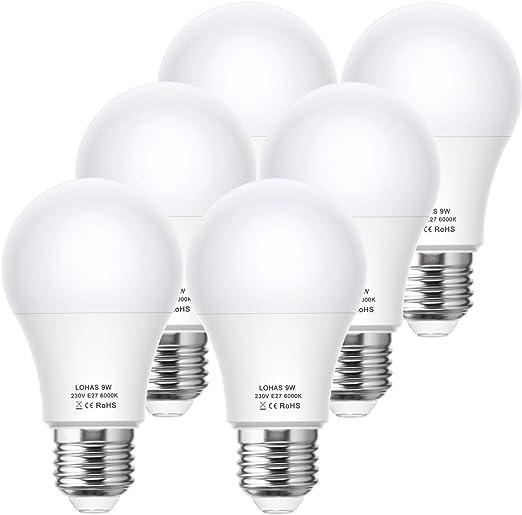 3//6//er 12W E27 LED Leuchtmittel Glühbirne Scheinwerfer Birne Licht Kugel Lampe