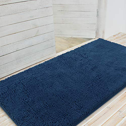 LINLA Premium Large Durable Chenille Doormat, Absorbent Fast Dry, Easy Clean,...