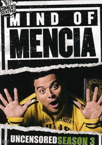 DVD : Carlos Mencia - Mind Of Mencia: Uncensored Season 3 (Full Frame, Dolby, Slim Pack, Slipsleeve Packaging, Uncensored)