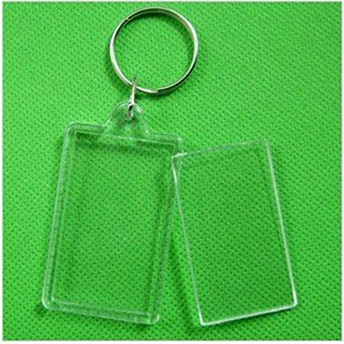 NAHASU | Frame | 170pcs Blank Acrylic Rectangle Keychains Insert 2