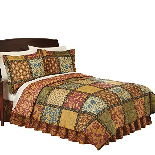 Vienna Pattern Quilted Medium weight Comforter