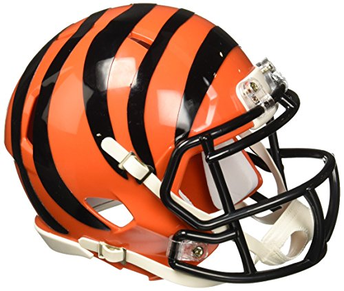 bengals mini football helmet - 2
