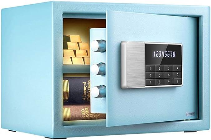 Caja Fuerte Convencionales de Seguridad Seguridad de Acero Caja de Seguridad con Teclado Digital for la Oficina en casa y joyería Hoteles en Efectivo Caja de Dinero: Amazon.es: Hogar
