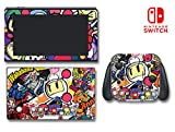 Super Bomber-man R Maze Strategy Video Game Vinyl Decal Skin Sticker Cover for Nintendo Switch Console System