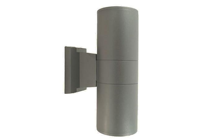 Applique esterno grigio e lampada luce parete lampada faretto