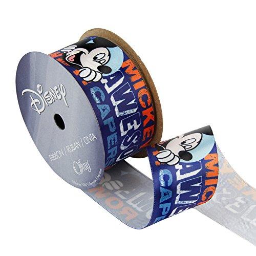 1 1/2in Mickey Mouse Ribbon Circles ()