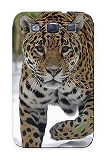 [09edb604306]premium Phone Case For Galaxy S3/ Jaguars Glance Animals Tpu Case Cover(best Gift Choice)