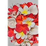 Tropical-Artificial-Orange-and-Pink-Orchid-and-Frangipani-Bridal-Bouquet-with-Calla-Lilies
