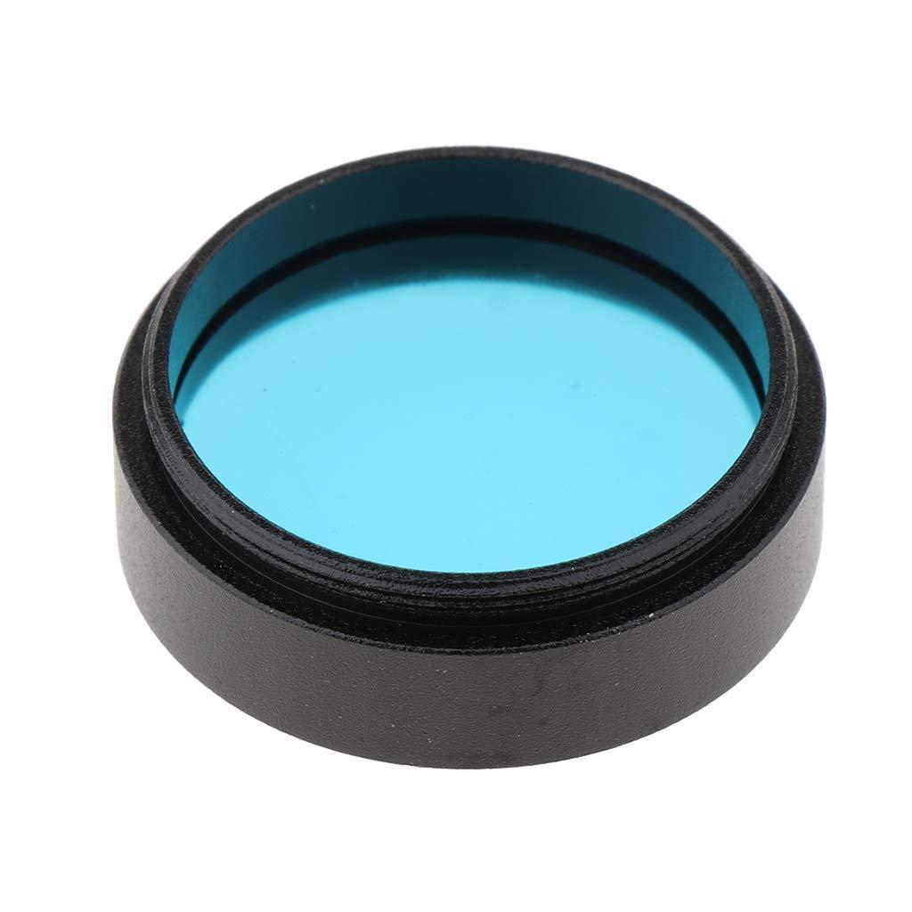 non-brand gazechimp Filtre de Couleur 1.25 Pouces pour T/élescopes Celestron pour Orion Bleu